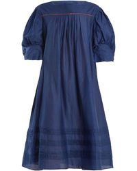 Thierry Colson - Jours De Venise Puff-sleeve Dress - Lyst