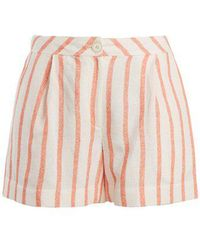 Thierry Colson - Biarritz Spugna High-waisted Shorts - Lyst