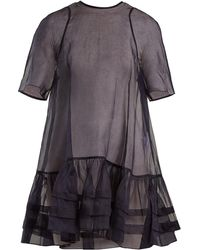 Cecile Bahnsen - Aylin Ruffle-trimmed Cotton-organdy Top - Lyst