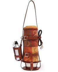 Loewe - Leather Dog Lead, Feeder Bag & Wool Blanket - Lyst