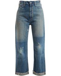 Chimala - Straight-leg Cropped Jeans - Lyst