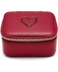Anya Hindmarch | Keepsake Heart Leather Box | Lyst