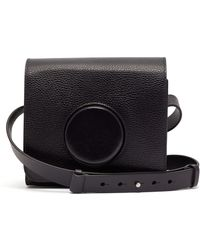 Lemaire - Camera Leather Cross-body Bag - Lyst