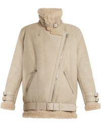 Acne Studios - Velocite Oversized Shearling Jacket - Lyst