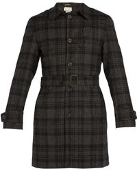 Oliver Spencer - Prestwick Checked Wool Coat - Lyst