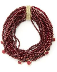 Rosantica By Michela Panero - Inganno Multi-strand Necklace - Lyst