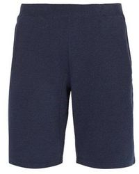 Sunspel - Mid-rise Cotton-jersey Shorts - Lyst