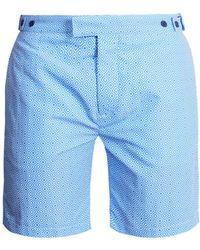 Frescobol Carioca - Tailored Angra Print Swim Shorts - Lyst