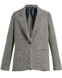 Golden Goose Deluxe Brand - Irma Prince Of Wales-checked Jacket - Lyst