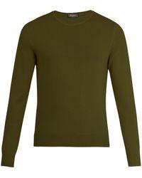 Berluti - Crew Neck Cashmere Sweater - Lyst