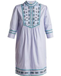 Talitha - Willow Embroidered Cotton Dress - Lyst