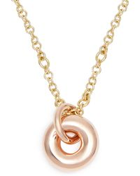 Spinelli Kilcollin - Nebula 18kt Rose-gold Pendant Necklace - Lyst
