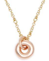 Spinelli Kilcollin - Nebula 18kt Rose Gold Pendant Necklace - Lyst