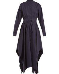 Sportmax - Oblato Cotton Dress - Lyst