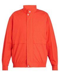 Lemaire - Lightweight Cotton Jacket - Lyst
