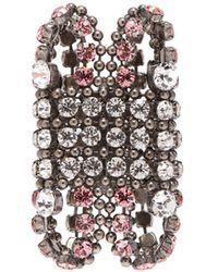 Gucci - Crystal-embellished Cuff - Lyst