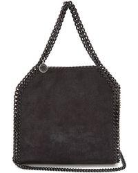 Stella McCartney - Falabella Mini Faux-suede Cross-body Bag - Lyst