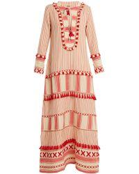 Dodo Bar Or - Samuelle Striped Cotton Maxi Dress - Lyst