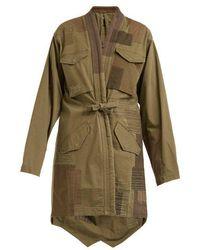 Maharishi - Patchwork Cotton-blend Jacket - Lyst
