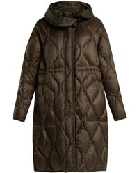 Moncler - Manthus Wave-quilted Down-filled Coat - Lyst
