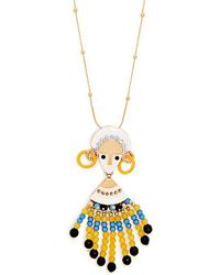 Etro - Bead And Crystal-embellished Necklace - Lyst