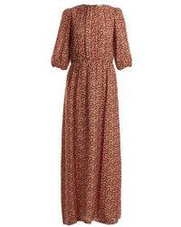 Vanessa Bruno - Ijka Floral-print Dress - Lyst
