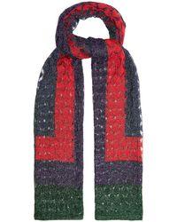 Missoni - Geometric Fine-knit Scarf - Lyst