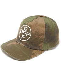 e593aad390b Saint Laurent Green Camouflage Space Is My Home Cap in Green for Men - Lyst