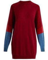 LNDR - Propel Logo-knit Wool-blend Jumper - Lyst