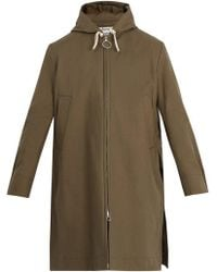 Acne Studios - Melt Cotton-twill Coat - Lyst