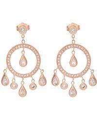Jacquie Aiche | Diamond & Rose-gold Earrings | Lyst