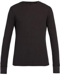 Rag & Bone - Sweat-shirt en coton à col ras du cou - Lyst