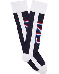 Fusalp - Striped Compression Ski Socks - Lyst