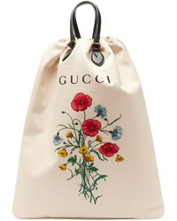 Gucci - Chateau Marmont Canvas Tote Bag - Lyst