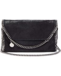 Stella McCartney - Falabella Faux Leather Mini Cross Body Bag - Lyst