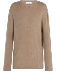 Raey - - Open Knit Summer Cashmere Jumper - Mens - Grey - Lyst