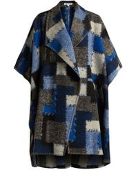 Elizabeth and James - Pinchot Patchwork Wool Cape - Lyst