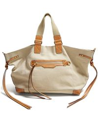 Isabel Marant - Wardy Canvas Tote Bag - Lyst