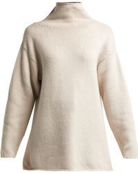 CONNOLLY - High Neck Cashmere Jumper - Lyst