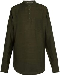 Denis Colomb - Raj Silk Tunic Shirt - Lyst