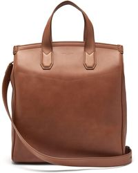 Dunhill - Duke Leather Tote Bag - Lyst