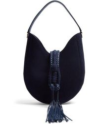 Altuzarra - Ghianda Small Suede Shoulder Bag - Lyst