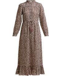 Sea - Robe en toile à imprimé léopard Lottie - Lyst
