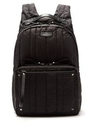 Valentino - Rockstud Quilted Nylon Backpack - Lyst
