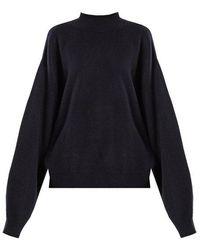 Raey - Balloon-sleeve Cashmere Sweater - Lyst