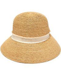 Heidi Klein - Cape Elizabeth Raffia Bucket Hat - Lyst