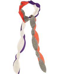 Missoni - Scallop-edged Fine-knit Scarf - Lyst