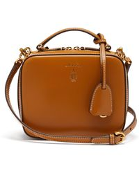 Mark Cross - Baby Laura Leather Cross Body Bag - Lyst