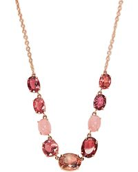 Irene Neuwirth - Opal, Tourmaline & Rose-gold Necklace - Lyst