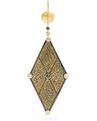 Ara Vartanian X Kate Moss diamond & gold single earring k1Otk6N
